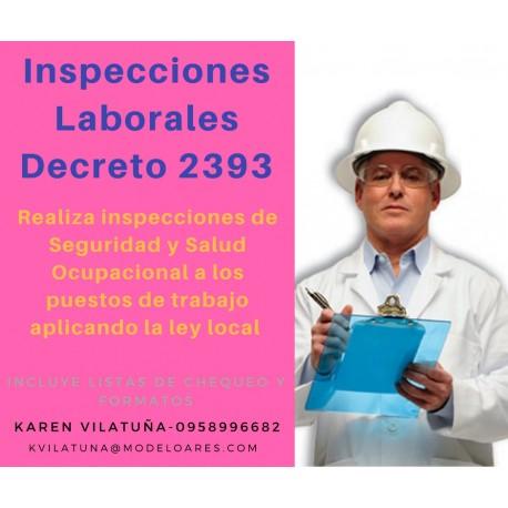 PRESENCIAL - Inspecciones de seguridad y salud en el trabajo