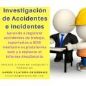 WEBINAR - Reporte, investigación y análisis de accidentes e incidentes de trabajo