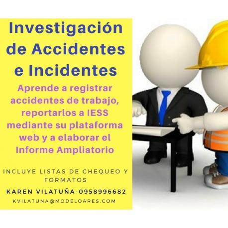 PRESENCIAL - Reporte, investigación y análisis de accidentes e incidentes de trabajo