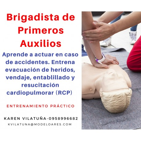 PRESENCIAL - Brigadista de primeros auxilios
