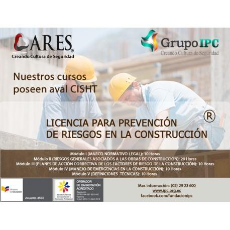 PRESENCIAL - Prevención de riesgos en la construcción