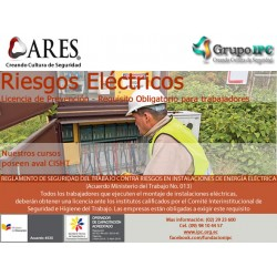 WEBINAR - Prevención de riesgos eléctricos